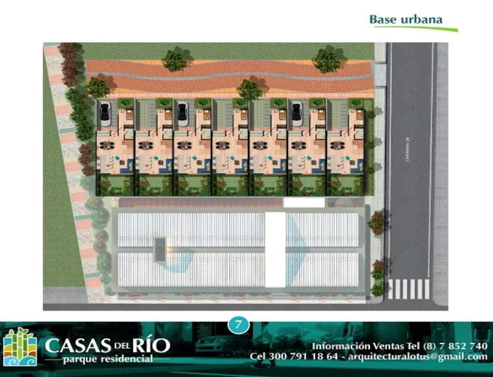 Casas del Río Ficha 2 Base urbana I7