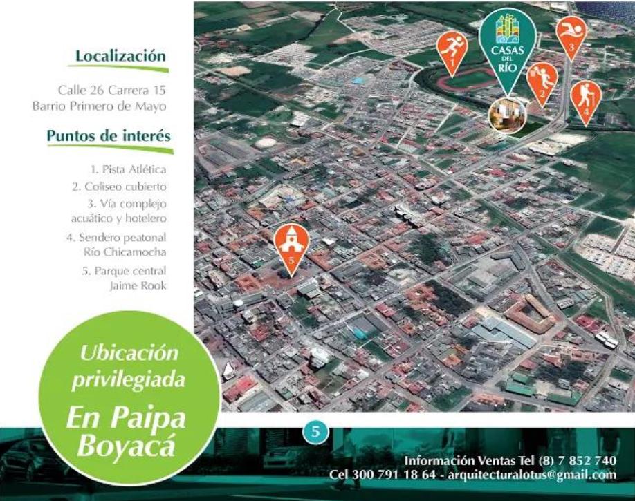 Casas del Río Ficha 2 Localización I5